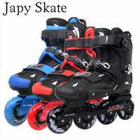 Japy Skate Original SEBA Hohe Licht HL Erwachsene Inline Slalom Skates Roller Skating Schuhe Slalom Schiebe FSK Patines Adulto