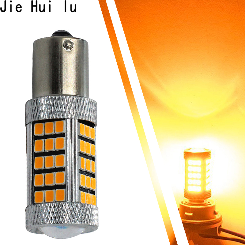 1Piece 1156 BA15S P21W 66 led 2835 smd Car Tail Bulb Brake Lights auto Reverse Lamp Daytime Running Light red white yellow newest silica gel 1156 ba15s p21w 8led car tail bulb brake lights 360 degree shine auto reverse lamp white yellow lamp