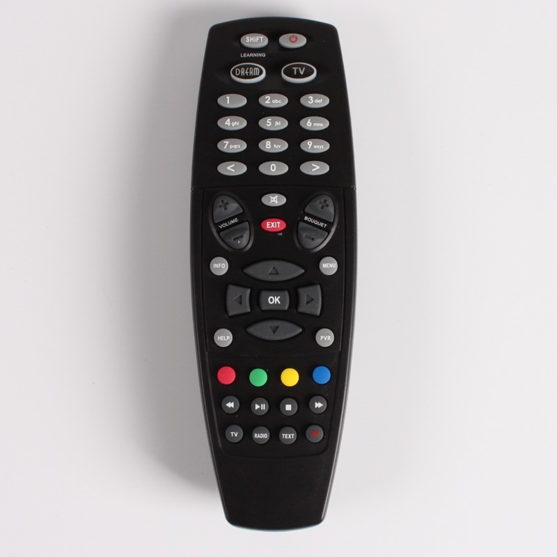 Remote Control with Learn function For DREAMBOX DM800/DM800HD/DM800SE/DM500HD/DM8000 HD, SUNRAY SR4 V1 V2 dm