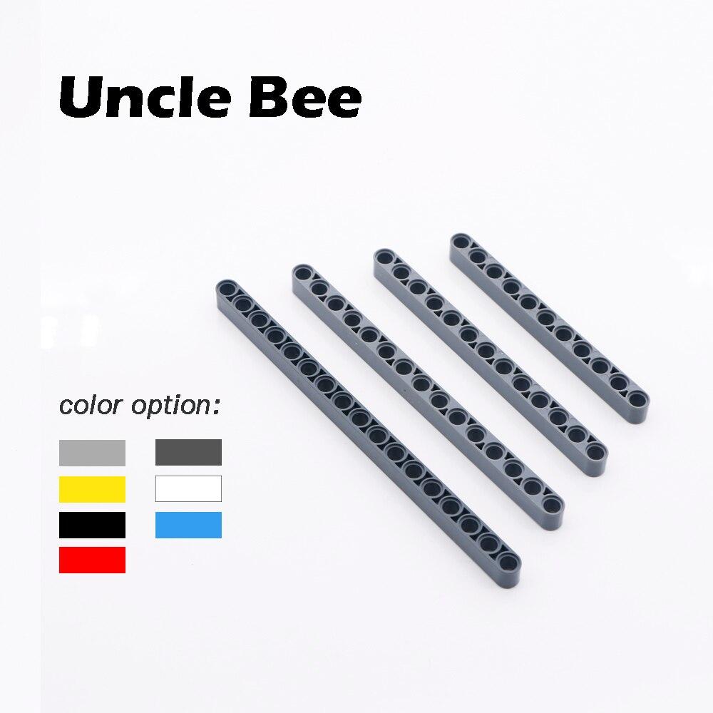 7-3 Lego 4x Technic Liftarm Brick Round Curved 1x9 Dark Grey 32271 Lot