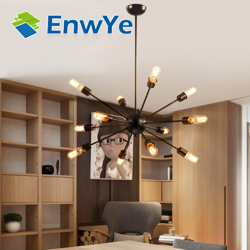 Ceiling Lights Vintage Lamps For Living Room Iluminacion Ceiling Light Wrought Iron Luminaria E27 Bulb Home Lighting Fixtures