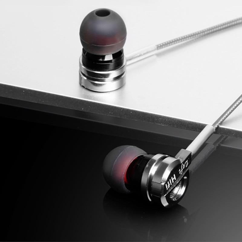 EASYIDEA earphones D05 Earphone For Phone Super Bass In-ear Heatset With Microphone Subwoofer HiFi Earphones