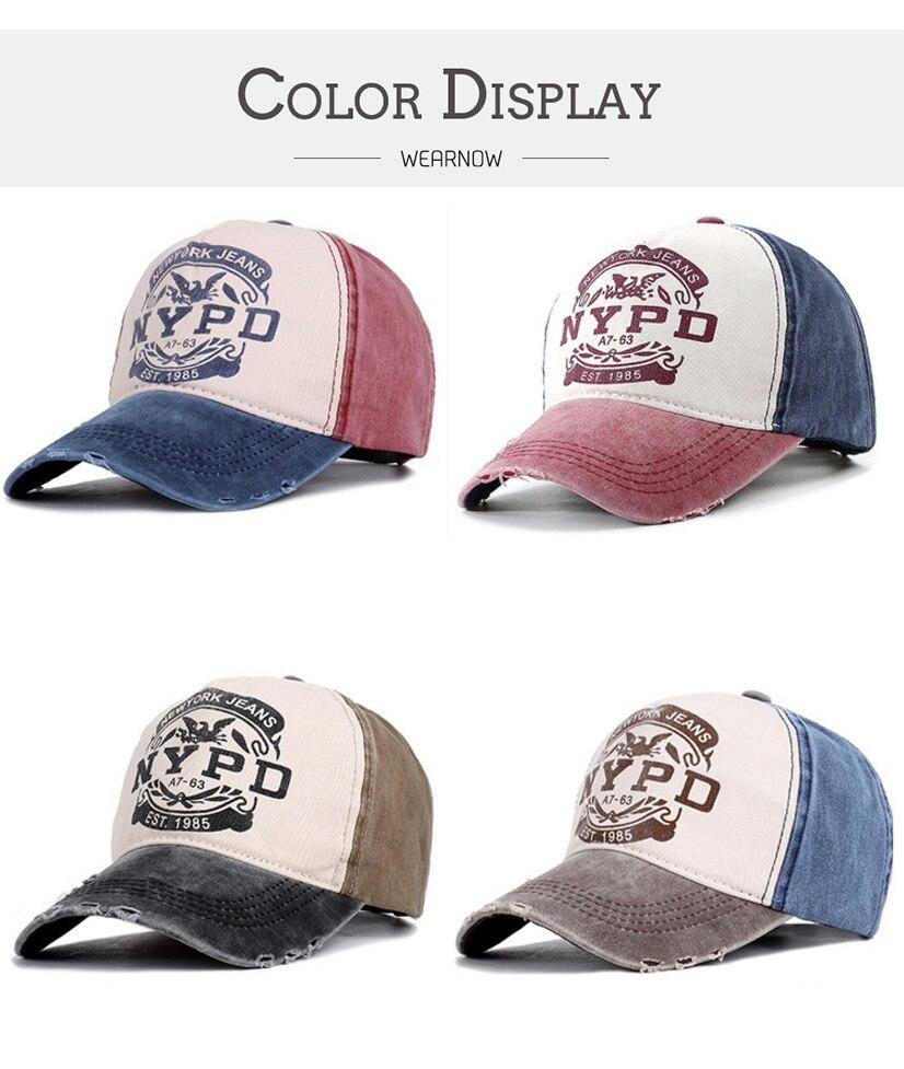 棒球帽子_做旧水洗牛仔棒球帽子男女街头字母nypd弯檐嘻哈鸭舌---阿里巴巴_01