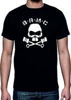 2017 New Cool B.R.M.C Camiseta-The Wild One Brando Brmc Calavera Varias Estate Tee Manica Corta degli uomini di Disegno T Shirt
