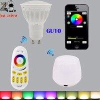 Mi Light 2 4g 4w Rgbw Rgbww Led Bulb Rf Professional Smart Led Spotlight Wireless Remote