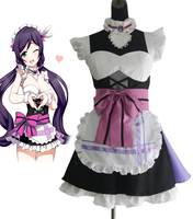 Love Live School Idol Project Toujou Nozomi Maid Anime Cosplay Costumes