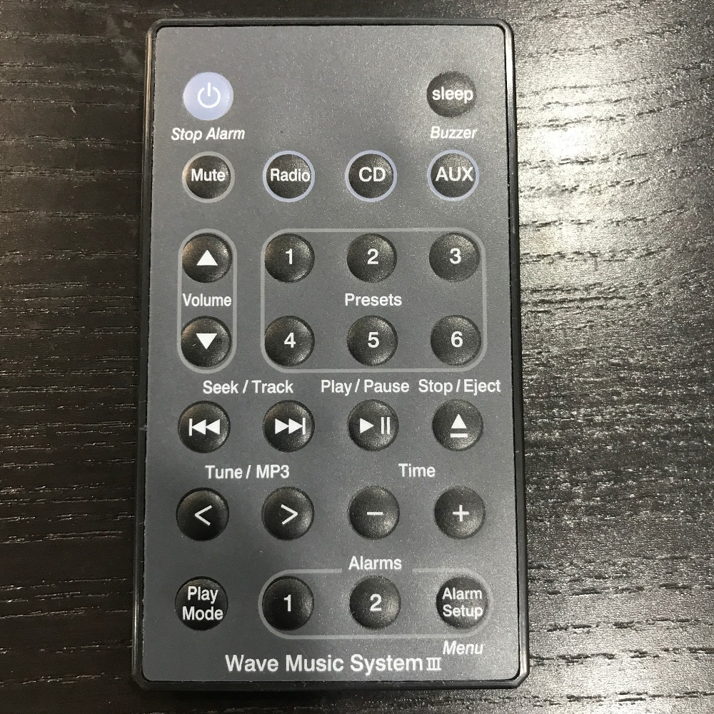 New Remote Control For Bos.e Soundtouch Wave Music Radio Radio/cd System I Ii Iii Iv 5 Cd Multi Disc Player Fernbedienung