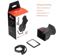 GGS 3X LCD Viewfinder Magnification Loupes For Canon 7D 5D2 550D T2i Camera