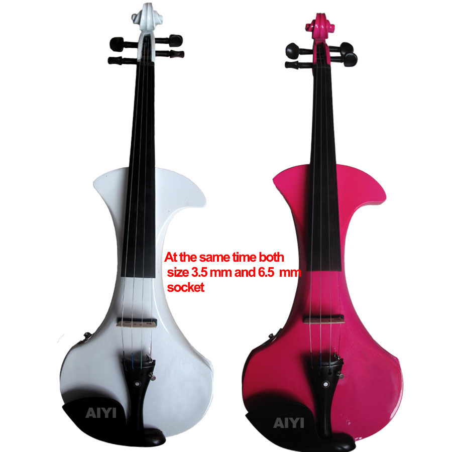 New-Style Electronic Violin The High Quality Electronic Violin +Rosin+Case+Bow+Tuner