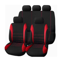 carnong Car Seat Cover universal protector hatchback sedan front seat cover or full set airbag available vehicle auto