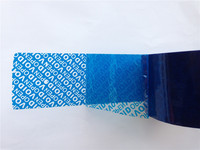 Free Shipping Tamper Evident Tape Packaging Tape Adhesive Security Seal Anti Counterfeit Label Transfer VOID OPEN