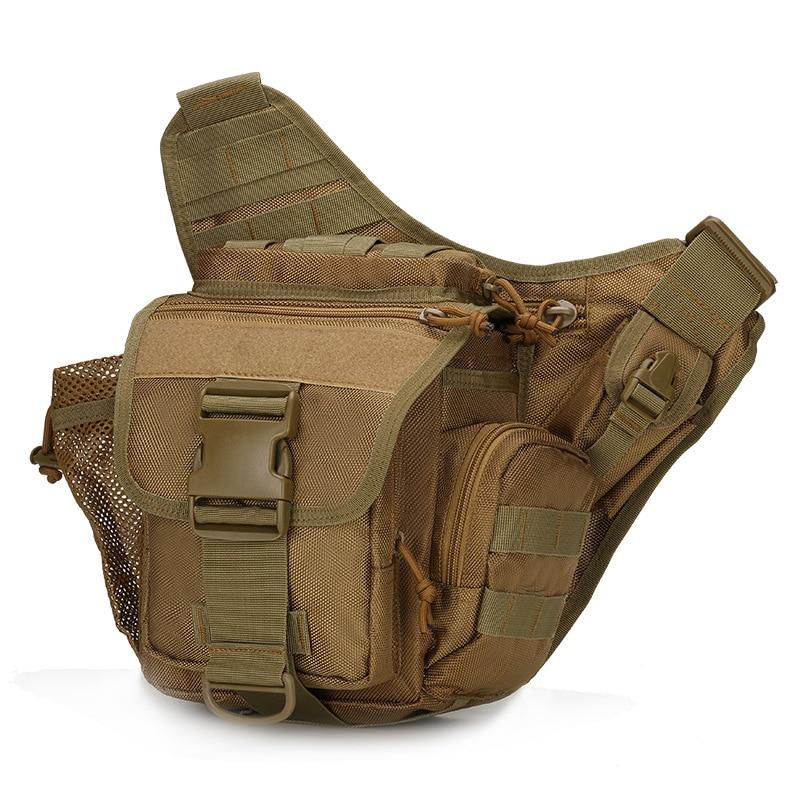9 Colors Camera Bag Jambe Bolsillo Tactico Saddle Upgrade Camouflage 3C Chest Pocket Belt Bag Messenger Men Military Saddle Bags