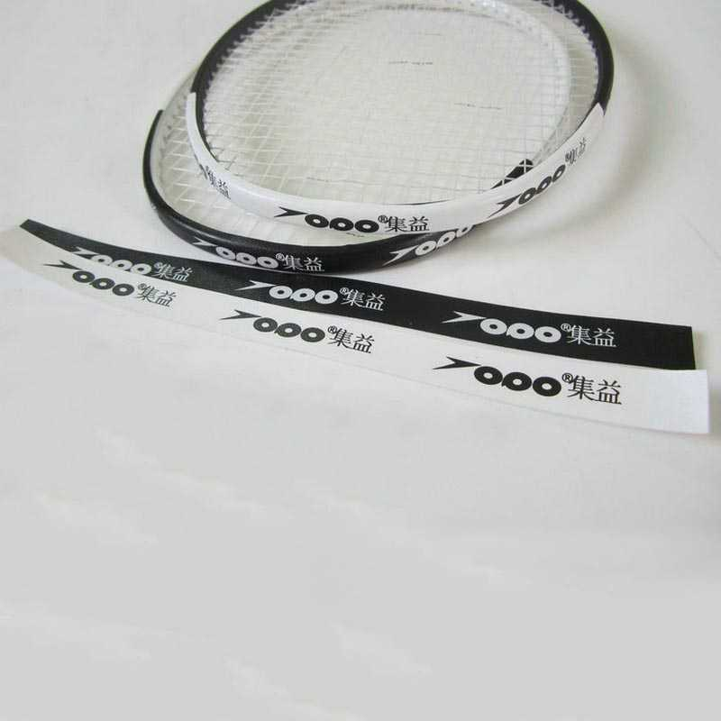 Self Adhesive Badminton Racket Head Edge Protector Tape PU Anti Paint Off Wear Resistant Sport Badminton Accessories Equipment
