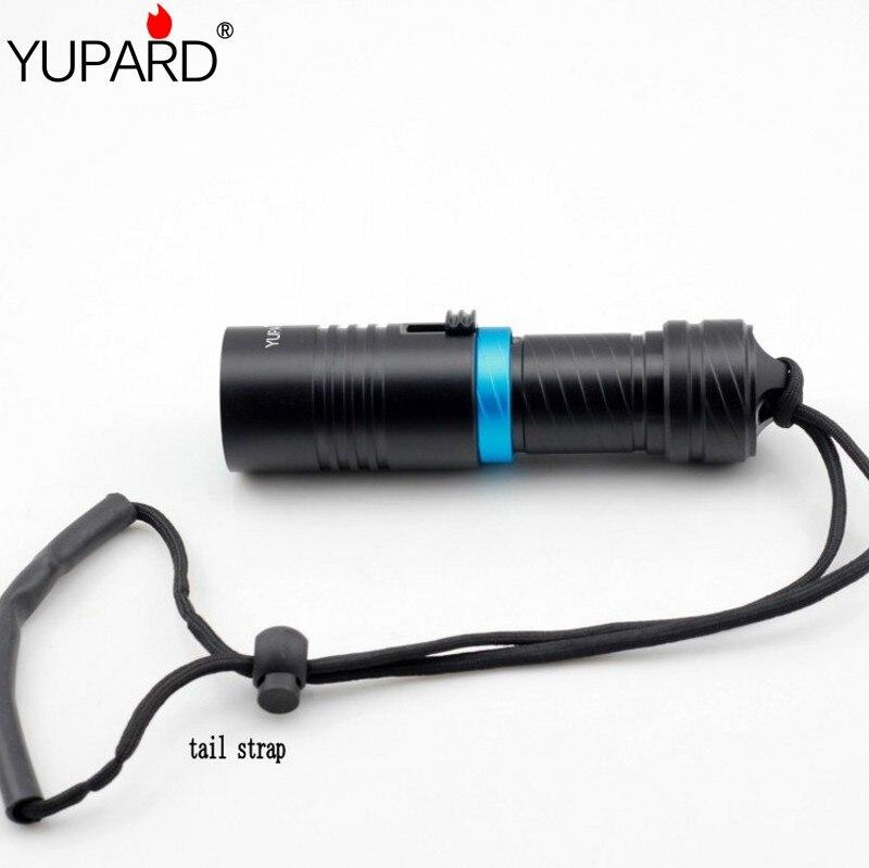 XM-L2 LED Waterproof Flashlight Diving T6 LED diver Underwater lantern LED Torch dive lamp 26650/18650 rechargeable light