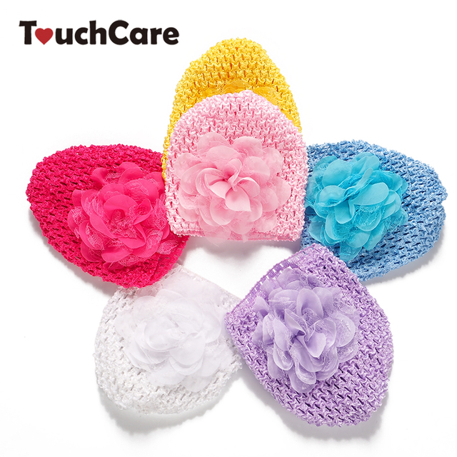 e4171190ebe Clearance Infant Spring Colorful Lace-up Baby Boy Girl Caps Soft Cotton  Floral Hat Sweet
