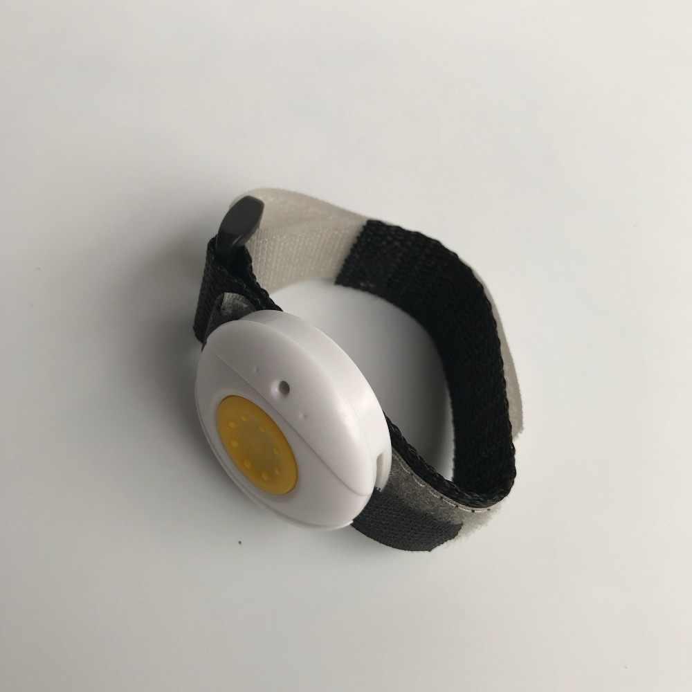 Botón de pánico impermeable/botones SOS para el sistema de llamadas de botón de emergencia de cuidado de ancianos, reloj de pulsera y collar (solo botón sos)