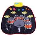 Los niños Juguetes Musicales Juego Fresco Conjunto Juguetes Educativos Pandereta Tambores de Percusión de Tipo Táctil Mat Jugar Juguete Electrónico Bajo Precio de Venta