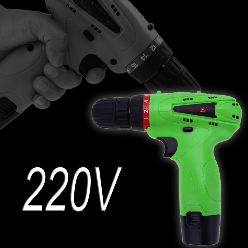 12V Cordless Electric Drill Household Mobile Power Supply Lithium-ion Battery Screwdriver Cordless Electric Drill Power Tools цена