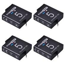 4 шт. 3.85 В AHDBT 501 1600 мАч GoPro 5 батареи AHDBT-501 AHDBT501 Перезаряжаемые литий-ионный Батарея для Go Pro 5 gopro Hero 5 камеры