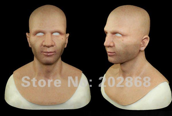 Sold Briskly Silicone human mask realistic high simulated dermatoglyph capillaries freckle Non-toxic