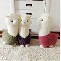35CM Cute Alpaca Stuffed Toys Alpaca Llama Doll Kids Plush Toys Stuffed Animal Dolls For Kids Brithday Gift MR35
