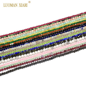 Wholesale Faceted 2mm 3mm Natural  Pink Quartz Crystal Gem Beads For Jewelry 1