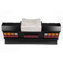 Diy modificado carro led quadrado luz de sinal traseiro conjunto com amortecedor traseiro para tamiya todos os 1/14 para o homem scania r620 r470 rc peças do carro
