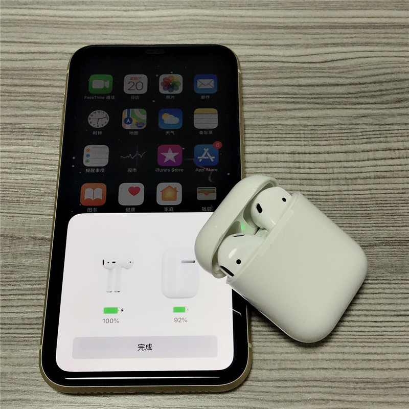 Newest w1 chip 1:1 Brand AP battery pop up Mini Wireless Bluetooth Connect Headphone & Earphone For iP 7 8 X XS Max Pad(China)