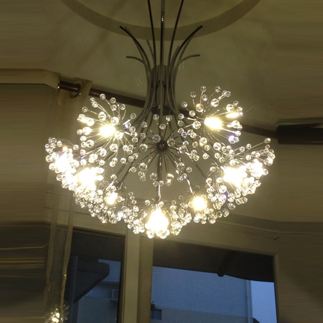 Dandelion chandelier caboche chandelier crystal chandelier dandelion chandelier caboche chandelier crystal chandelier manufacturer bubble crystal chandeliers flower lighting wedding mozeypictures Gallery