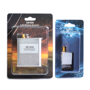 ФОТО 2.4Ghz 500mw Audio video wireless transmitter and Receiver 8CH Airplane RC TS321+RC302 FPV Free shipping