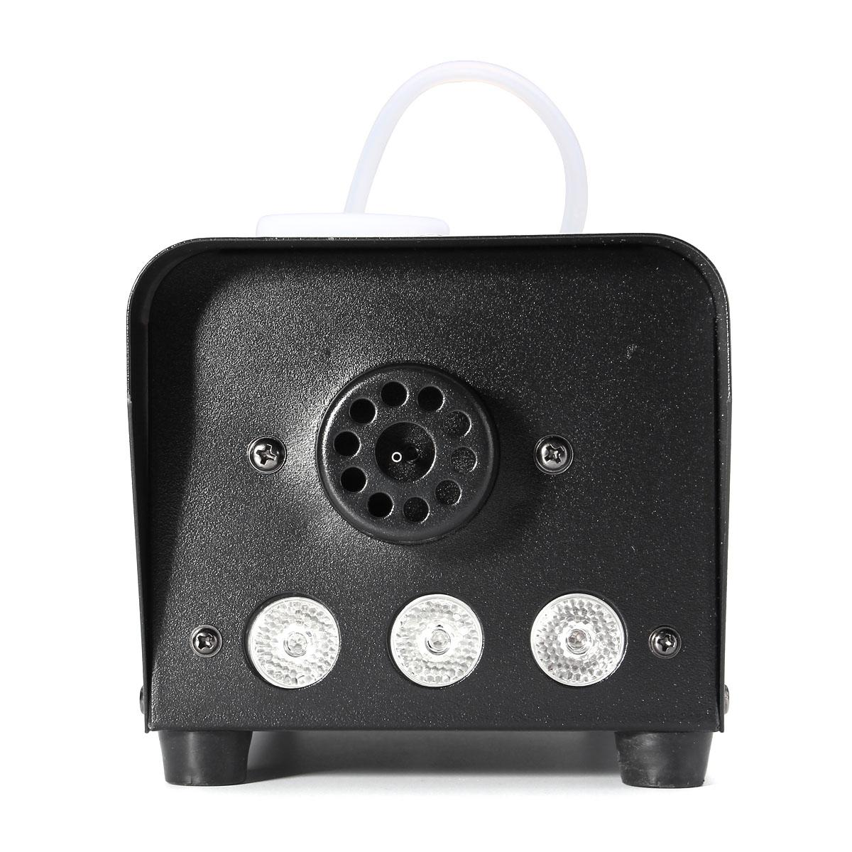 500W Professional Smoke Ejector Fog Machine RGB LED Night Light Stage Lighting Effect Remote Controller DJ Party KTV Bar Show