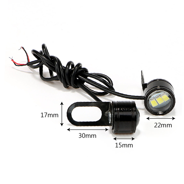 2PCS Motorcycle Fog Lamps LED