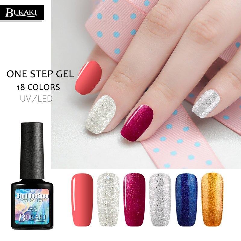 Best Price BUKAKI One Step Nail Polish Nail Extension Kit Esmalte ...