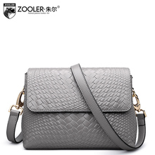 ZOOLER Genuine leather bag luxury women bags designer leather crossbody bags for women 2018 messenger shoulder bags ladies #6152