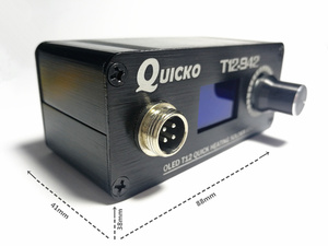 Image 5 - MINI T12 OLED soldering station electronic welding iron 2018 New design DC Version Portable T12  Digital  Iron T12 942 QUICKO
