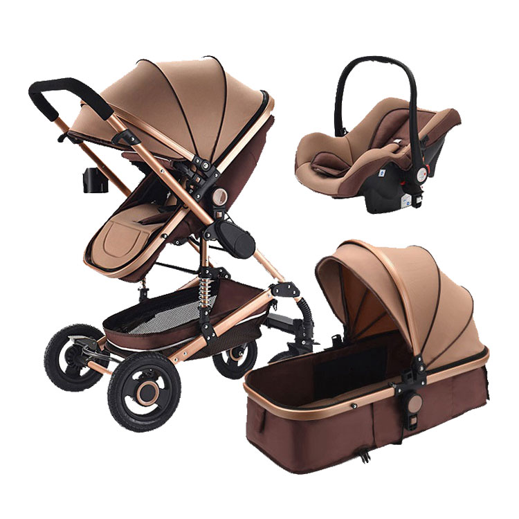 Baby Stroller 3 In 1 Pram with Car Seat Travel System Baby Stroller with Car Seat Newborn Baby Comfort Car Seat 0~36 monthsBaby Stroller 3 In 1 Pram with Car Seat Travel System Baby Stroller with Car Seat Newborn Baby Comfort Car Seat 0~36 months