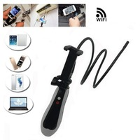 USB Endoscope Camera Full HD 2MP WIFI Snake Rigid Cable Android iPhone IOS WIFI USB Pipe Inspection Borescope Camera