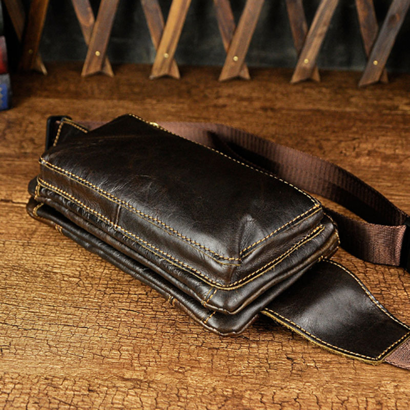 China leather fanny pack Suppliers
