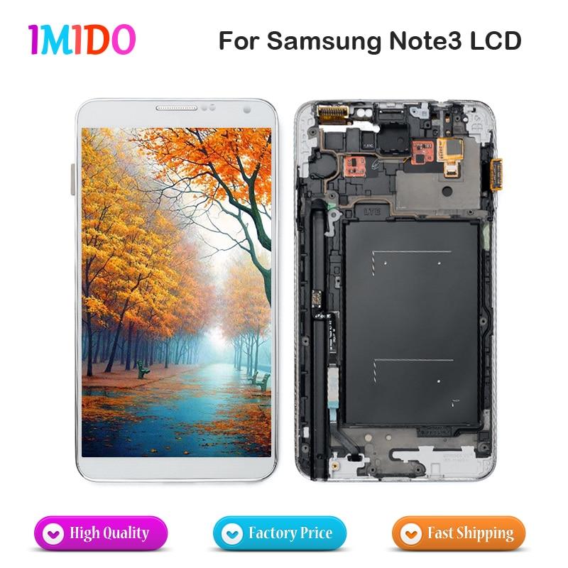 3PCS DHL Shipping LCD Display For Samsung Galaxy Note3 N900 N9000 N9005 N900A LCD Touch Screen
