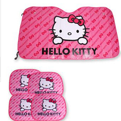 Car umbrella window foils car covers pink hello kitty car front side window sunshade sunshades auto.jpg 250x250