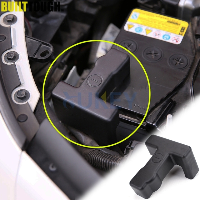 For Nissan Quest Pathfinder Infiniti Qx60 2017 2018 Engine Battery Negative Cable Clamp Clips Terminal Cover Stickers