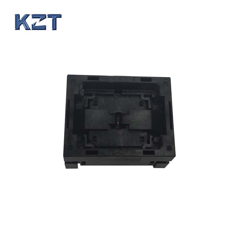 QFN16 MLF16 Burn in Socket NP506-016-027-C-G IC Test Socket Pitch 0.4mm Open Top Size 3*3 Socket Programming Socket Connector free shipping sop32 wide body test seat ots 32 1 27 16 soic32 burn block programming block adapter