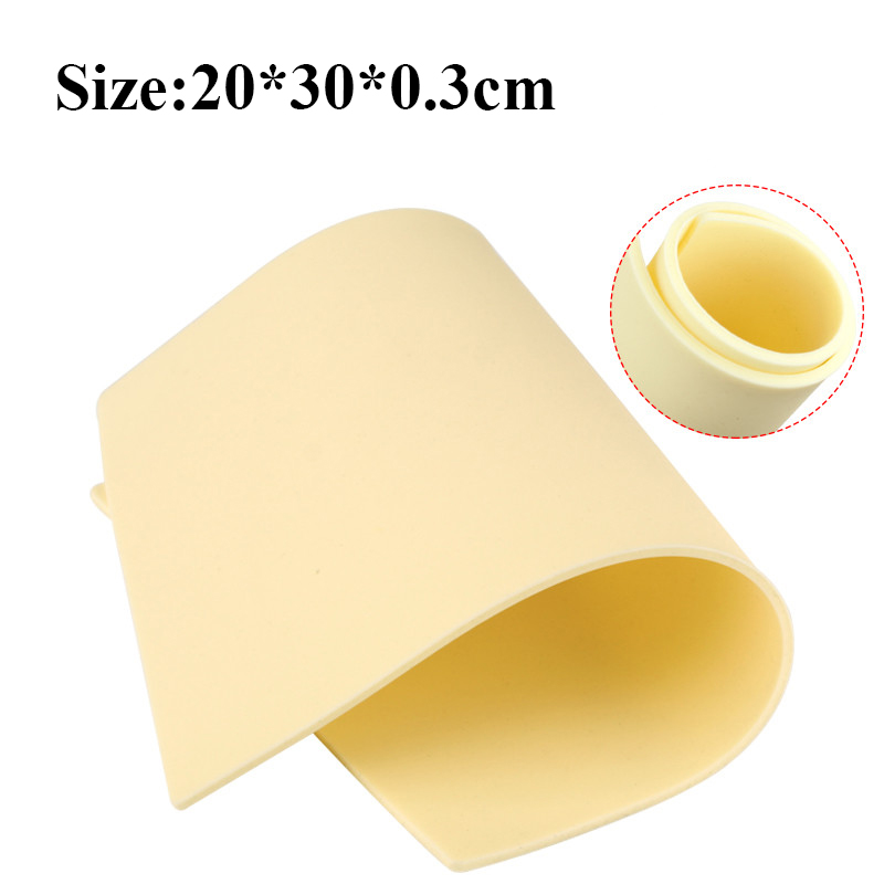 Newest High Quality 3mm Thick Tattoo Practice Skin Blank Silicone Double Sides 20*30*0.3CM Permanent Tattoo  Practice Skin