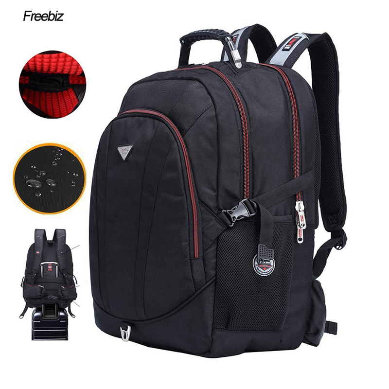 Free BIZ USB Charging 18.4inch Laptop Backpack Teenage 18Inch Rucksack SchooL Bag Travel Waterproof Notebook Computer Backpack
