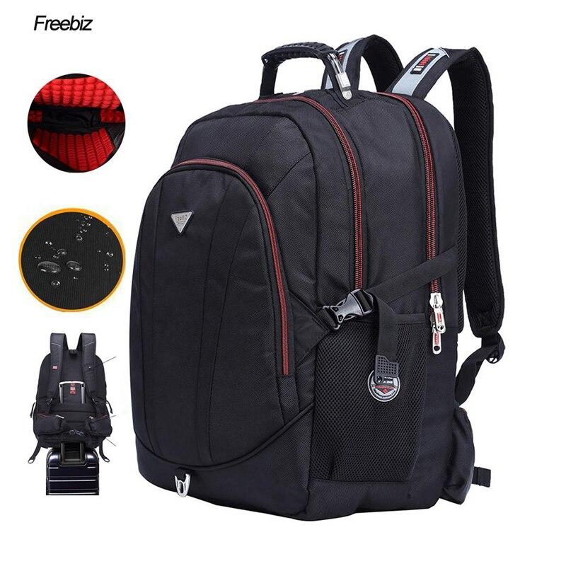 Free BIZ USB Charging 18.4inch Laptop Backpack Teenage 18Inch Rucksack SchooL Bag Travel Waterproof Notebook Computer Backpack