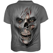 2019 New Mens Summer Skull Printed Men Short Sleeve T-Shirt 3D T Shirt Casual Breathable Plus Size 4XL Men's T-Shirt Clothes Top все цены