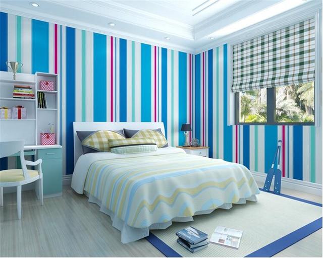 Beibehang Enfants chambre papel de parede 3d papier peint non tissé ...