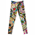 wholesales New Fashion Women Clothes Hot Digital Print Pants Hot New The Riddler Leggings Skinny leggings of  new skull