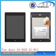 Nueva 7.9 pulgadas Pantalla LCD Reemplazo Asamblea de Pantalla Táctil Para Acer iconia Tab A1 810 A1-811 A1-810 A1 811 Tablet PC de protección