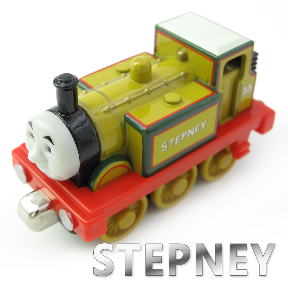 Diecasts Vehicles Thomas T129D STEPNEY Thomas And Friends Magnetic Tomas Truck Car Locomotive Engine Railway Train Toys for Boys